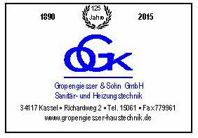 Gropengiesser & Sohn GmbH Sanitär- und Heizungstechnik