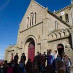 Die Taufkirche von Julie Postel in Barfleur. Foto: SMMP/Beer