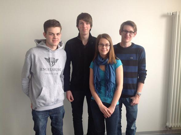 Das Mathe-Team der Engelsburg, Bild: R.Serret