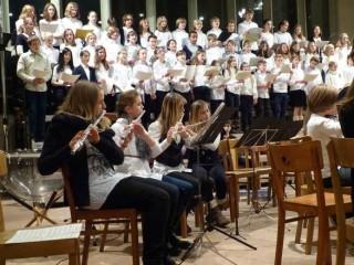 Unterstufenchor und Vororchester