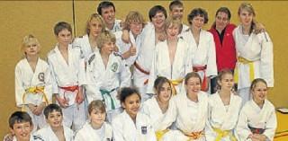 Die siegreichen Judoka