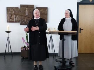 Lebendige Erzählungen über die Geschichte des Ordens (Sr. Alosia Höing und Sr. Pia Elisabeth Hellrung)