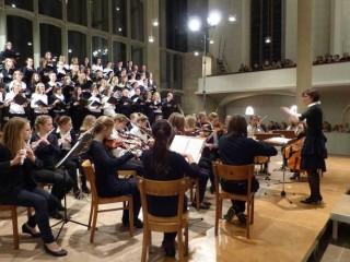 Chor und Orchester Fotos:A.Reiss