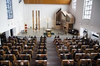 Trauerfeier für Schwester Elisabeth in Bestwig